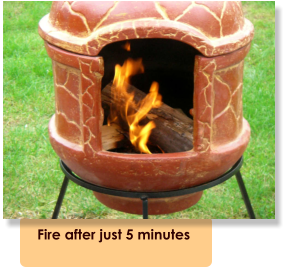 Fire after just 5 minutes